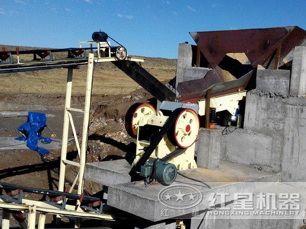 鄂式破碎机优异的生产性能