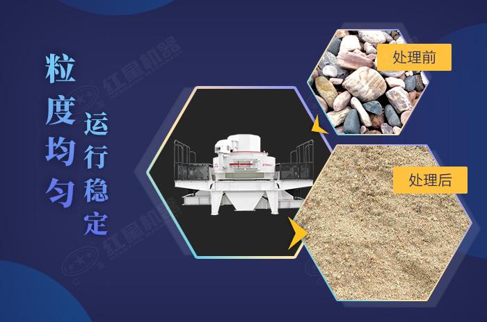 专业制砂设备的加工效果及优势展示