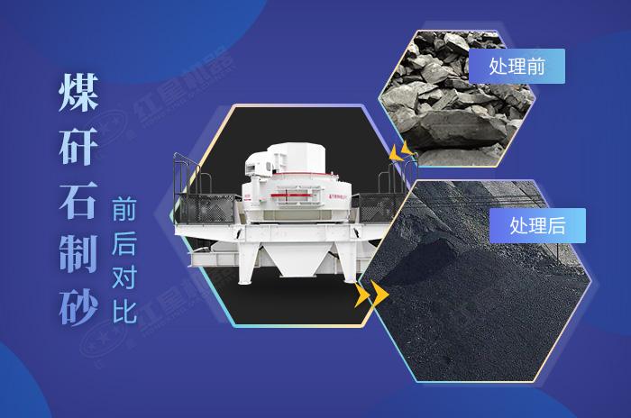 煤矸石制砂成品效果佳